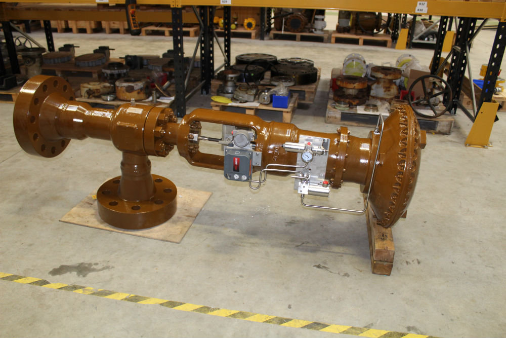 Choke Valve / Fisher 667 Actuator Refurbishment & Modification-image-4