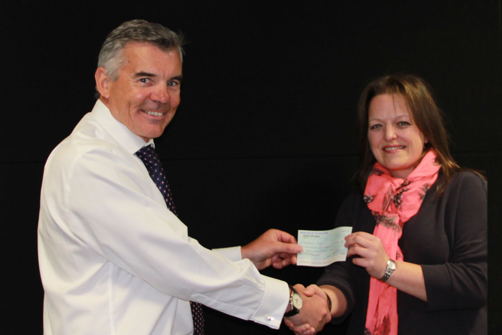 SVS's 20th Anniversary Celebration raises £1,123.75 for Aberdeen Foyer